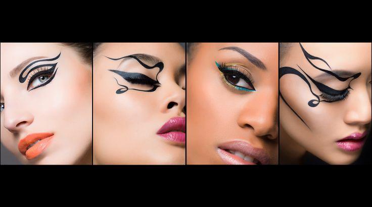 Eyeliner kangrote ogen, diepliggende ogen, rechte ogen, ogen die dicht bij elkaar staan en ogen die ver uit elkaar staan optisch verbeteren... http://www.emeral-beautylife.nl/735/