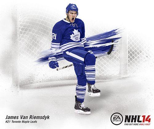 NHL 14 Leafs Art - JVR
