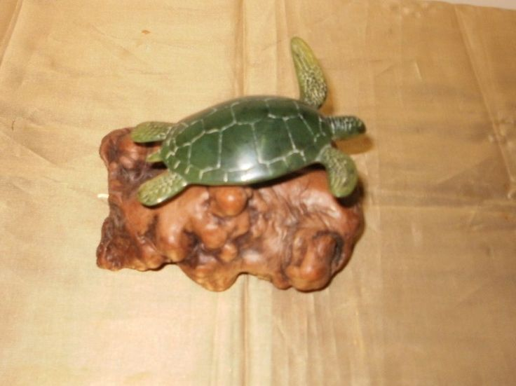 John perry green sea turtle wood sculpture ebay items