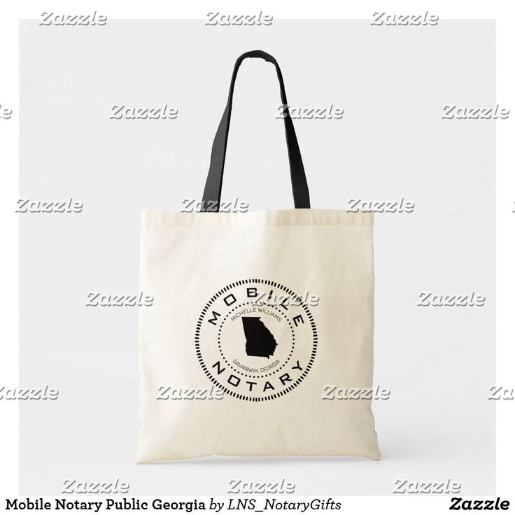 Mobile notary public tote bag in 2020