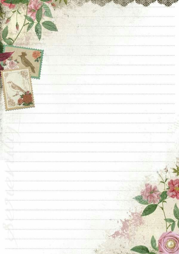 pretty papel de carta pinterest stationery