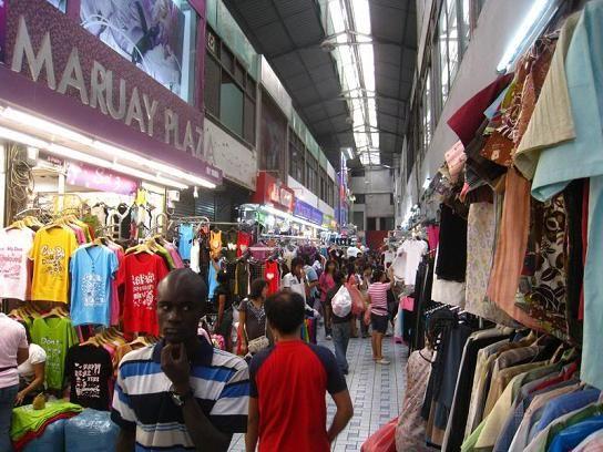 Pratunam Clothing Market in Bangkok Thailand