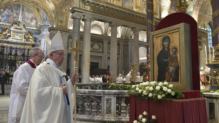 Pope Francis inserts the Memorial of the Blessed Virgin Mary, Mother of the Church, into the Roman Calendar on the Monday following Pentecost Sunday.