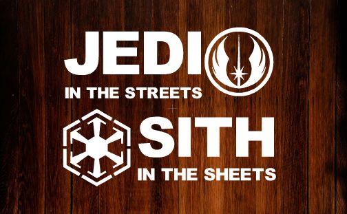 Star Wars Bumper Sticker/Decal #starwars #decals #vinyl #jedi #sith