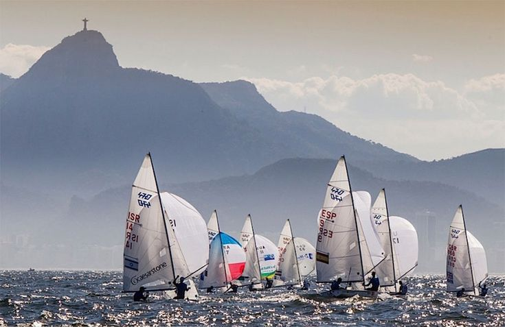 sailing rio olympics 2016 | 2016 Rio Olympics: 470s racing in the shadow of one…