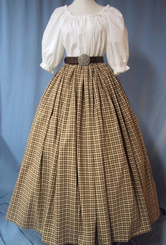 Civil War Reenactment Costume  Scottish by stitchintimedesigns
