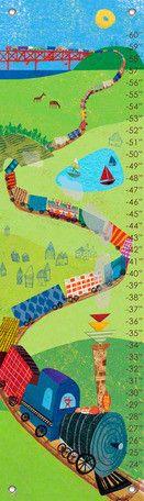 Choo Choo Train Growth Chart