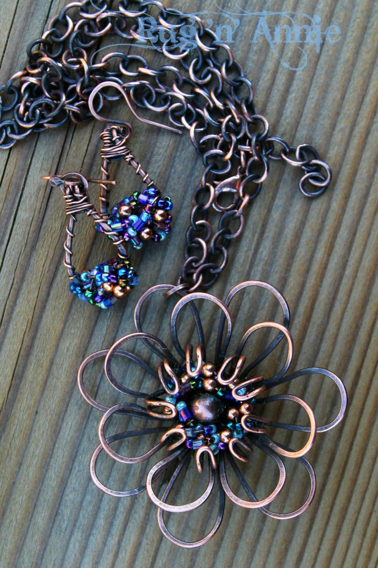 Best 172.0+ Flowers images on Pinterest   Wire jewelry, Wire wrapped ...