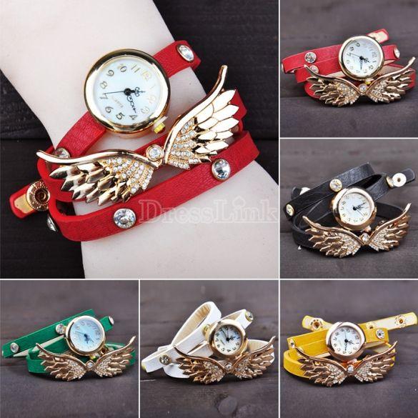 Wing Bracelet Watch Quartz Movement Wrist Women Watch