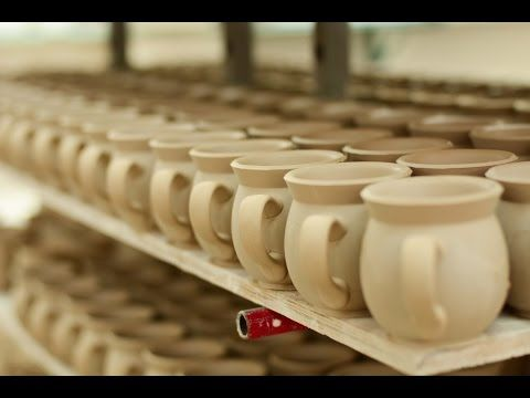 ▶ Bunzlau Castle - From clay to cup - YouTube As you know, Bunzlau Castle ceramics are handmade and painted by passioned craftsmen. Now, we want to show you how!  Bunzlau Castle || from clay to cup #Polishpottery #pottery #tableware #home #bunzlau #BunzlauCastle #Stoneware #Bluekitchen #polishblue #Bunzlauservies #kitchen #textile #coffee #tea #teatime #dinner #blue #Birthday #presents #crystal #Lunchtime #clay #cup #handmade
