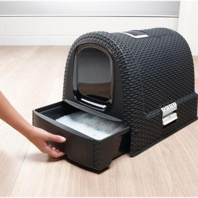 maison de toilette curver pour chat chat maison. Black Bedroom Furniture Sets. Home Design Ideas