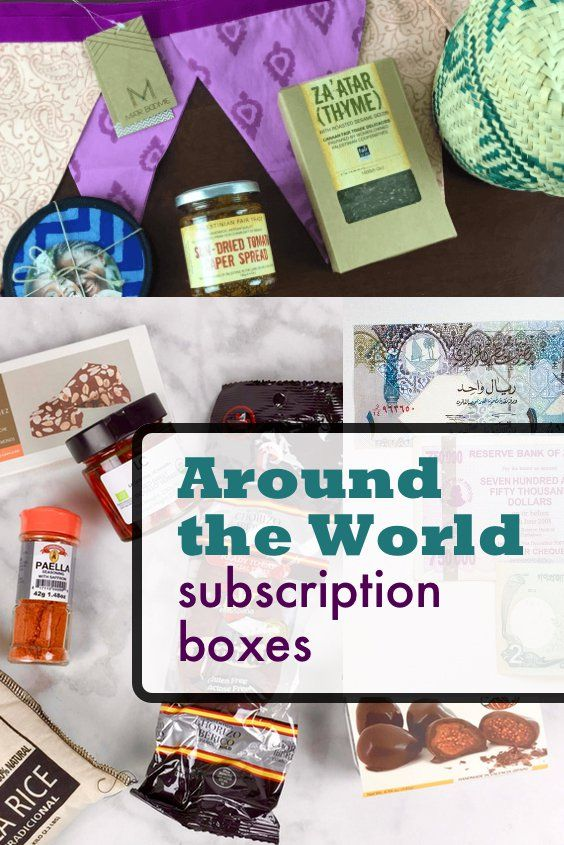 Traveling the world without leaving home? Yes, that's possible with these Around the World Subscription Boxes!     Travel The World In A Box: Best Around The World Subscription Boxes →  https://hellosubscription.com/2017/02/travel-world-box-best-around-world-subscription-boxes/   #subscriptionbox