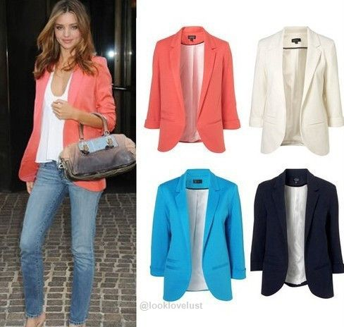 Candy Color Blazer Jacket - Jackets - Look Love Lust https://www.looklovelust.com/products/candy-color-blazer-jacket