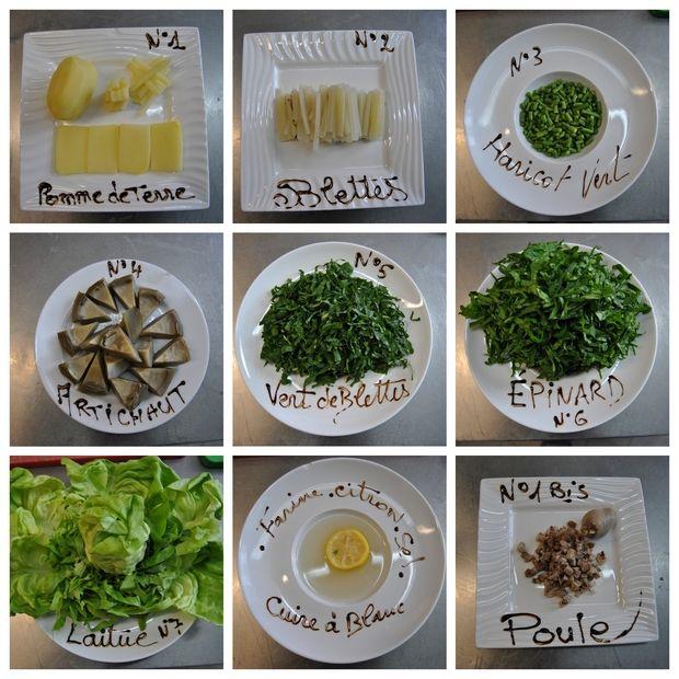 Les ingrédients de notre velouté gourmand