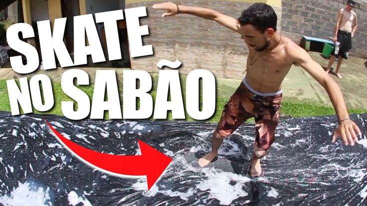 DIA DE DIVERSÃO... SKATE NO SABÃO - FELIZ ANO NOVO! (SOAP SKATEBOARD)
