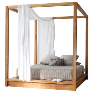 Scandinavian Canopy Beds by MASHstudios
