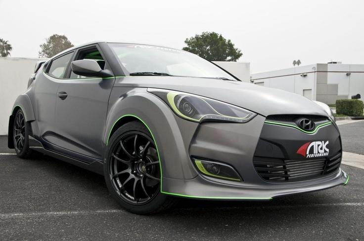 Hyundai Veloster's