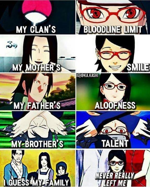 Familia de Sarada