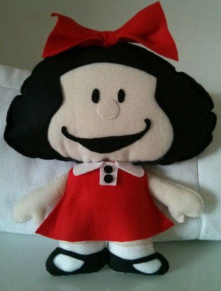 Mafalda em feltro