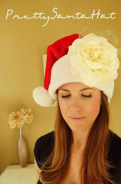 Smart! School {House}: DIY Pretty Santa Hat