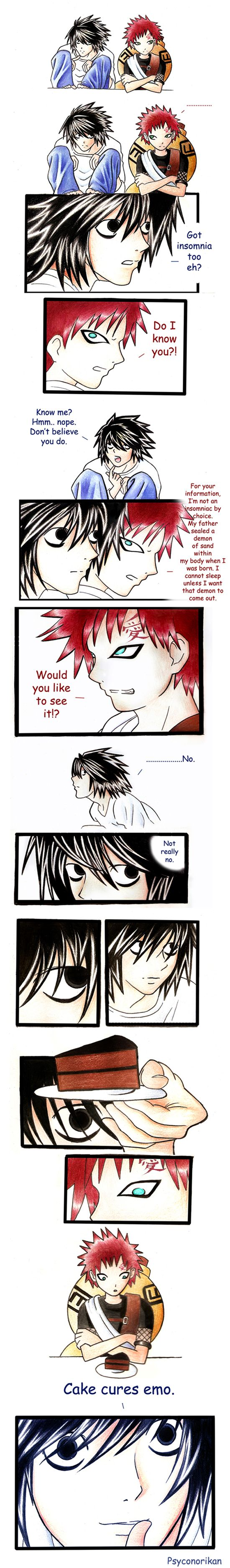 L's Cure For Emo by =Psyconorikan on deviantART