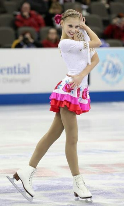 Polina Edmunds: local girl goes to Sochi!  She attends San Jose's Archbishop Mitty High School.