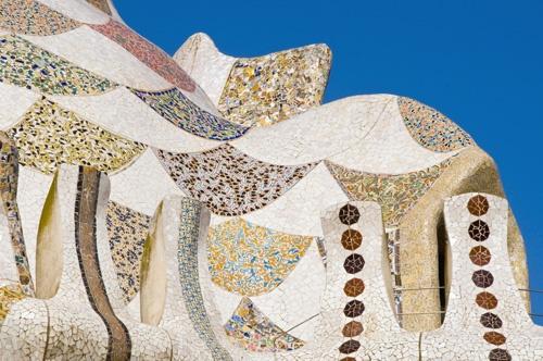 Parque de Guell; photographed by Annie Griffiths Belt, Spain.