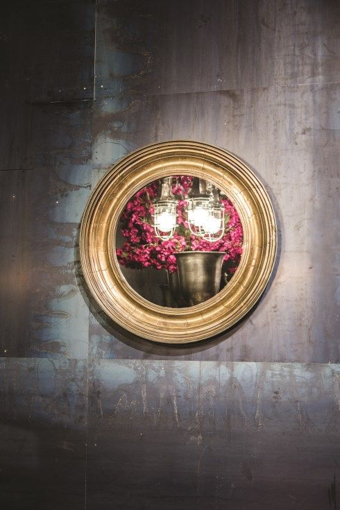 Bronce plated mirror - #ptmd #mirror #bronce #warmmetals