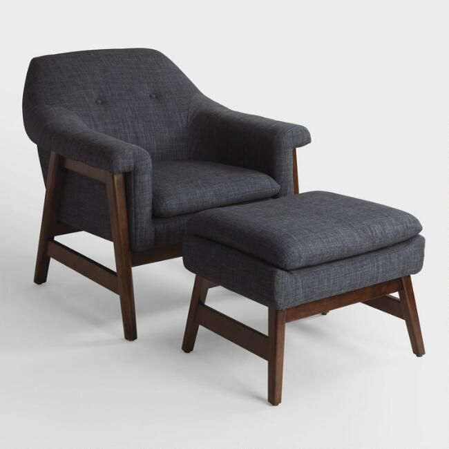 Upholstered Chair And Ottoman best 25+ chair and ottoman set ideas on pinterest | chair and