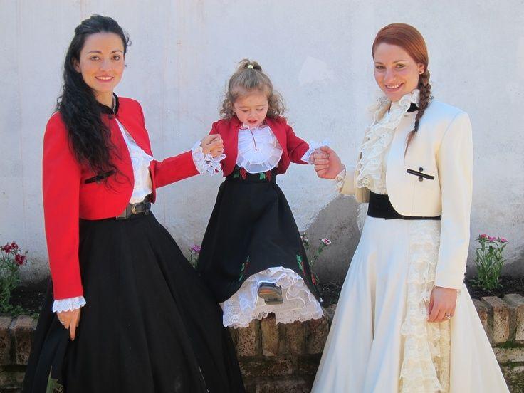 Typical Chilean costume