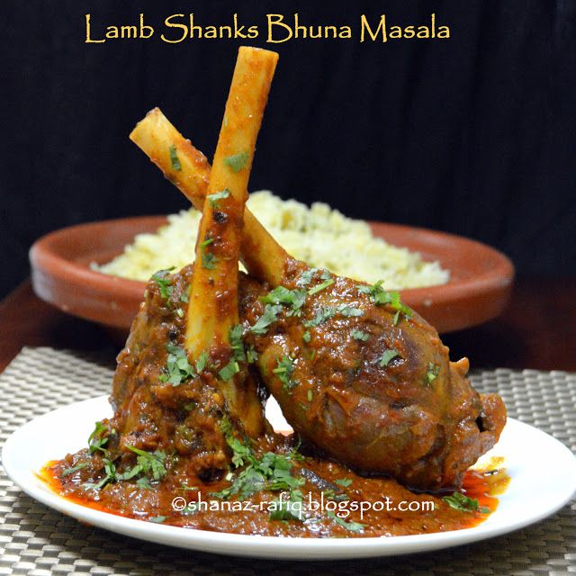 LOVE TO COOK: Lamb Shanks Bhuna Masala