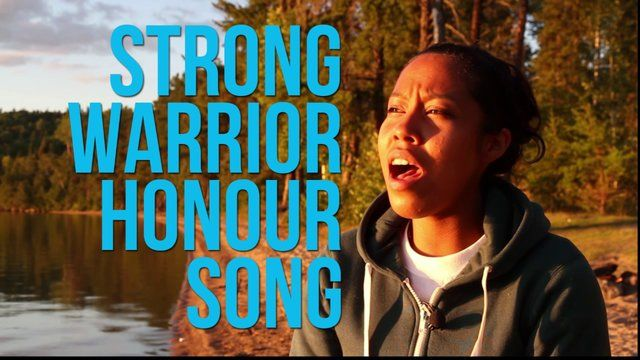 Aug 22After leaving the Grassy Narrows Youth Gathering at the Slant Blockade, my friend Shannon Paul and I returned to Keys Lake where earlier that day a group of us occupied the lake, and held signs & banner to deter people from launching their motor boats into the sacred waters that come from an underground spring.   *****Shannon dedicates this song to the people she met in Grassy Narrows after a few days of being inspired by these people with big hearts, the Ogijida who protect the land …