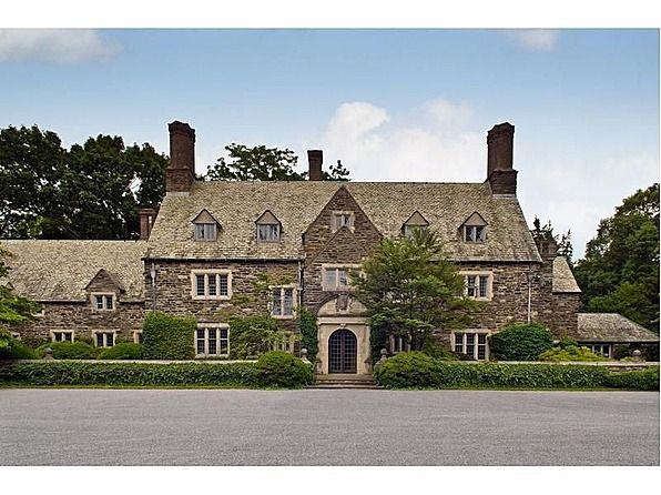 1929 Stone Manor House designed by Roger Bullard