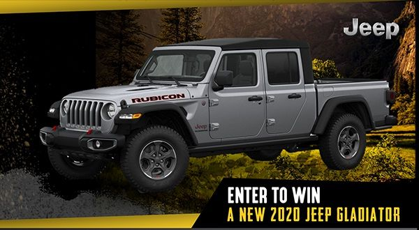 Get ready to drive your own 2020 Jeep Gladiator for free ...