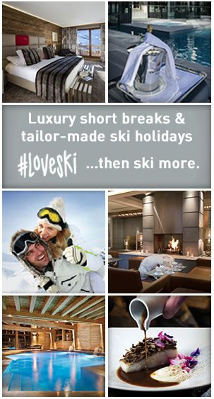 Luxury ski holidays to 4&5* ski hotels in Europe with Skiweekends.com