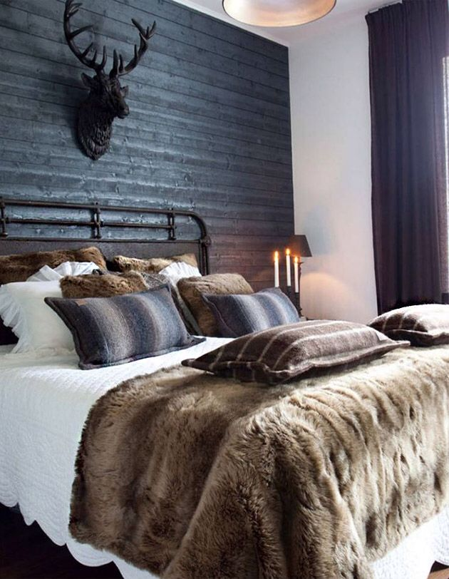 Cosy bedroom for a Scottish home.