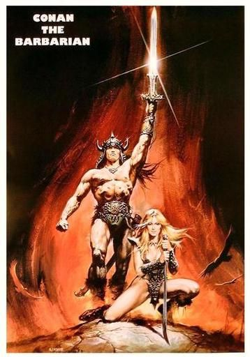 Conan. Arnold was a great Conan. That is until started reading the old comics and realized that Hollywood really messed with this one. Having said that I really do like this movie for what it is. It is a classic blood and guts action movie and worth the watch. 5 of 5