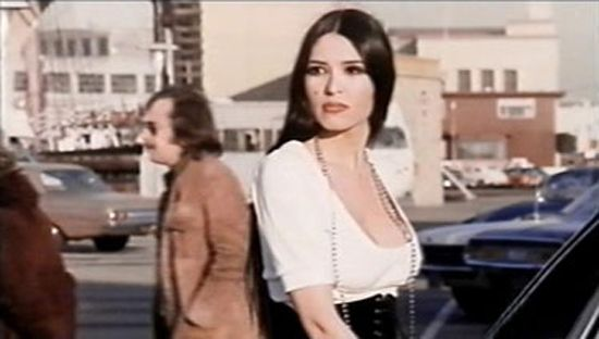 Sacheen Littlefeather, elegant in 70's
