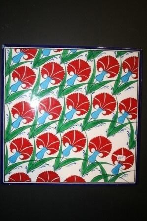 Handmade Turkish Ceramic Tile