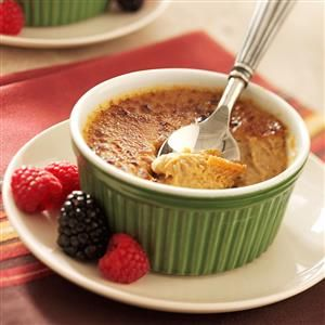 Maple Creme Brulee Recipe from Taste of Home