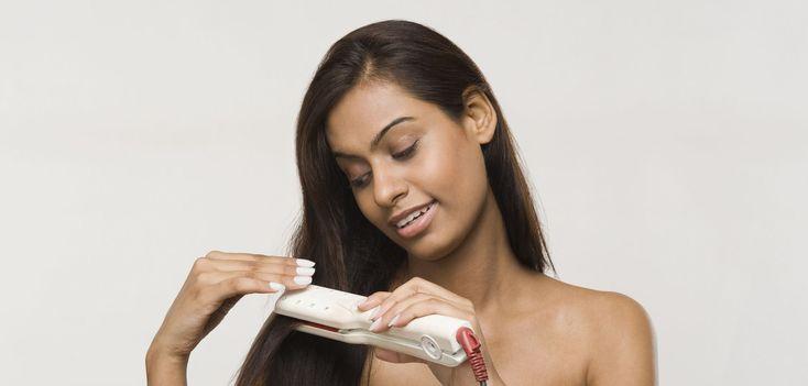 Fer à lisser : les bons gestes pour protéger vos cheveux de la chaleur.