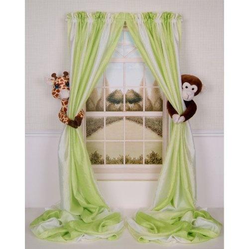 Curtain Critters Plush Jungle Safari Giraffe and Chocolate Monkey Curtain Tieback, Car Seat, Stroller, Crib Toys Collector Set by Curtain Critters Inc., http://www.amazon.com/dp/B0042GTB44/ref=cm_sw_r_pi_dp_0sO0pb0JF4JQF