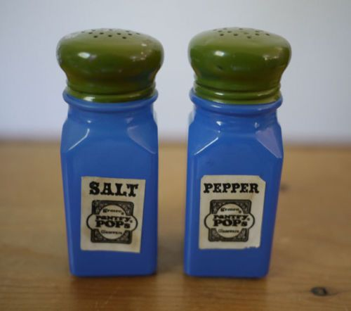 New Tall Wooden Salt and Pepper Shakers