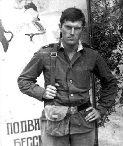 Viktor Yushchenko, one of the presidents of Ukraine. service in the Soviet Army