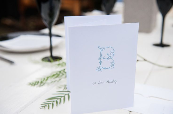 Sweet Magazine - Unique Ideas for a Boy's Baby Shower - Invitations.
