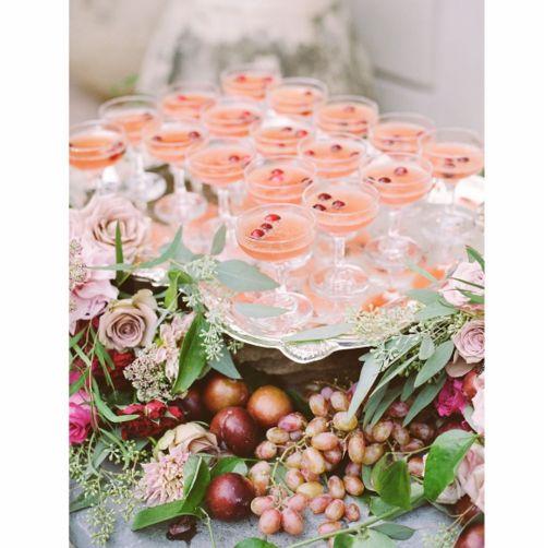 Table décorée par Aaron Delesie pour un mariage à la Nouvelle-Orléans