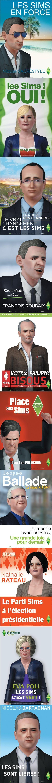 Sim's en politique ... Elections France 2012 ( looooooooooooooooooool )