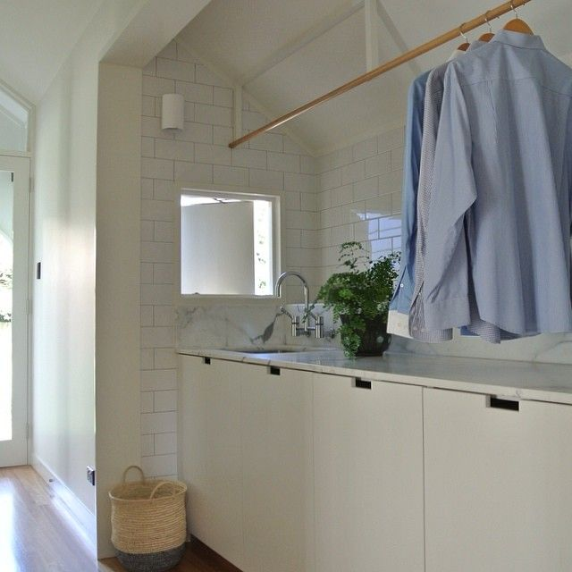 Doing laundry for six is not so bad #westendcottage #laundry
