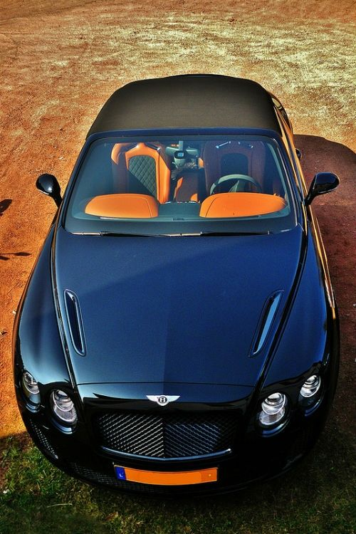 10 Beautiful and Fast Sport Cars - Beautiful Bentley Continental GT