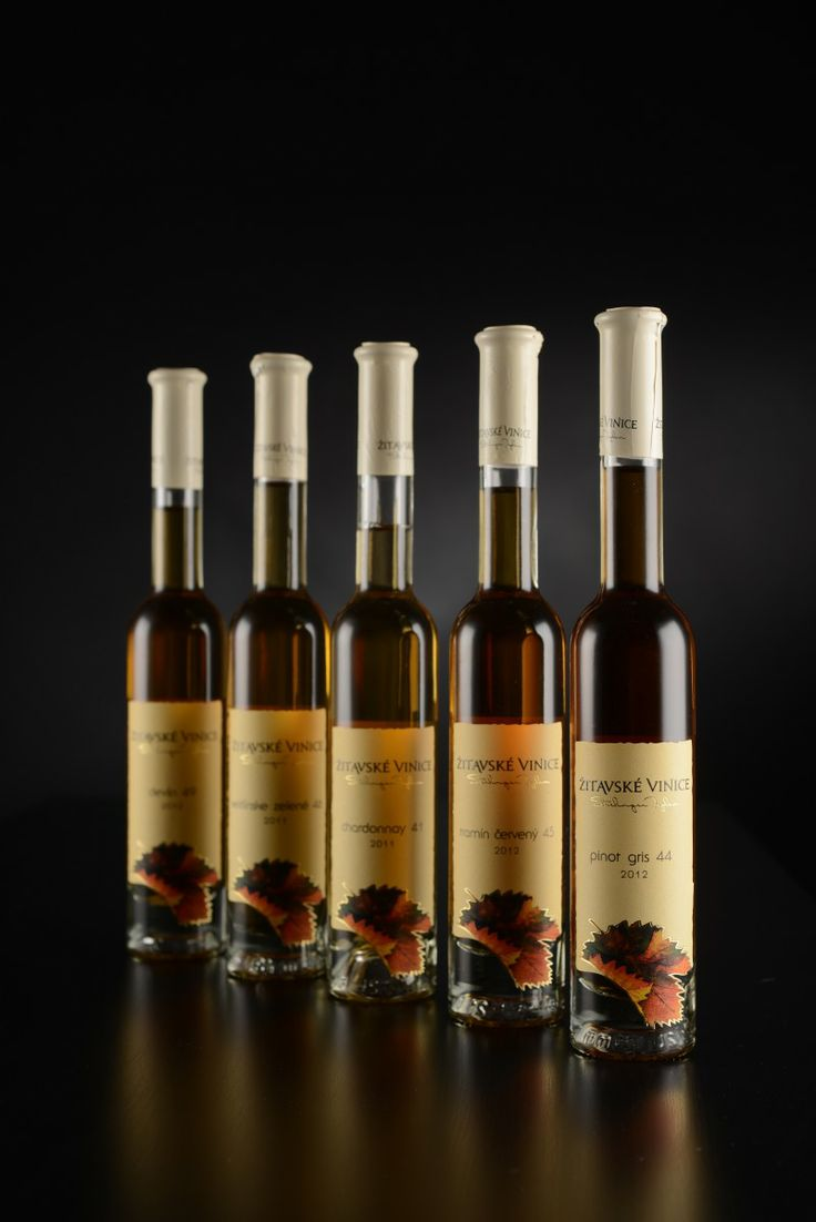 Zitavske vinice natural sweet wines collection